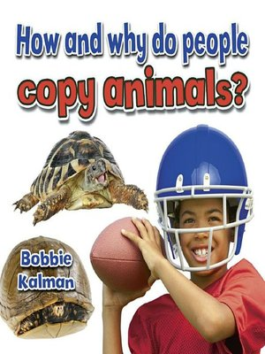 cover image of How and why do people copy animals?