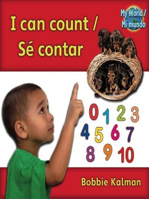 cover image of I Can Count / Sé Contar
