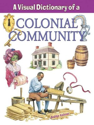 cover image of A Visual Dictionary of a Colonial Community