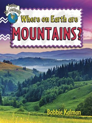 cover image of Where on Earth are Mountains?