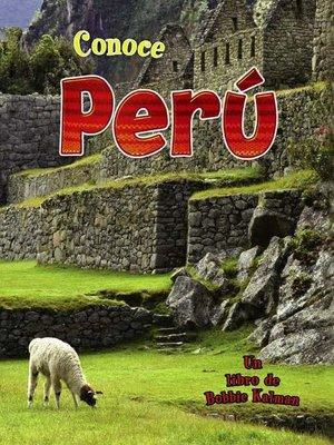 cover image of Conoce Perú