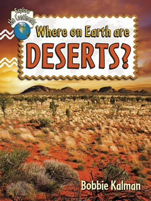 cover image of Where on Earth are Deserts?