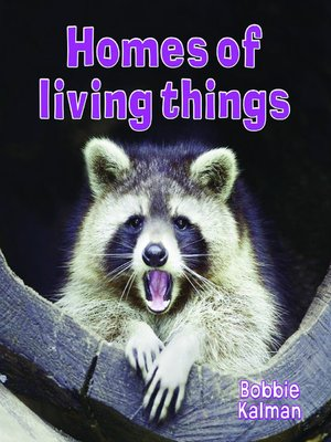 cover image of Homes of Living Things