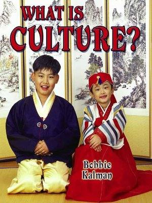 cover image of What Is Culture?