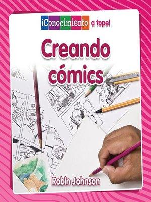 cover image of Creando cómics