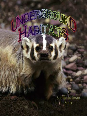 cover image of Underground Habitats