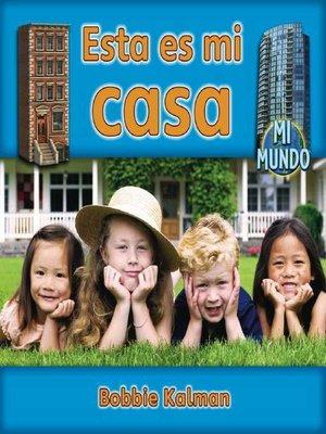 cover image of Esta es mi casa