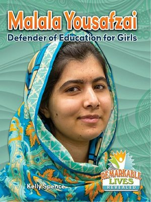 cover image of Malala Yousafzai: Defender of Education for Girls