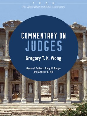 cover image of Commentary on Judges