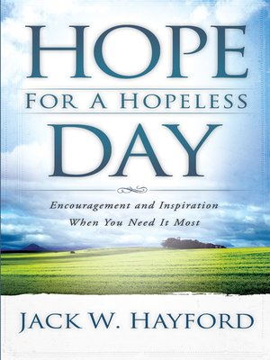 cover image of Hope for a Hopeless Day