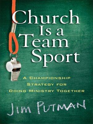 church is a team sport by
