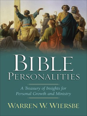 cover image of Bible Personalities