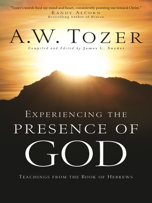 cover image of Experiencing the Presence of God