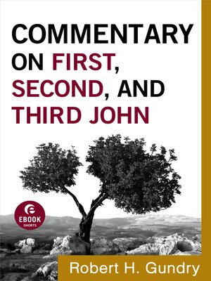 cover image of Commentary on First, Second, and Third John
