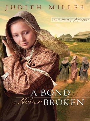 cover image of A Bond Never Broken
