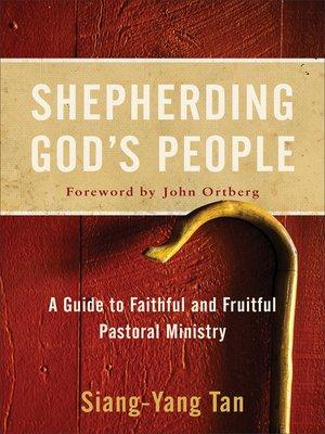 cover image of Shepherding God's People