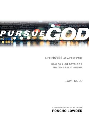 cover image of Pursue God