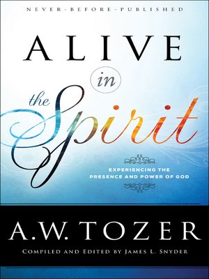 cover image of Alive in the Spirit