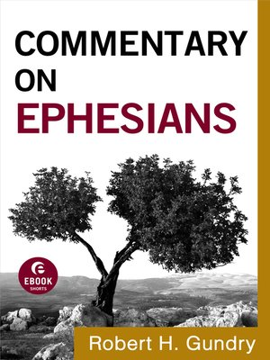 cover image of Commentary on Ephesians