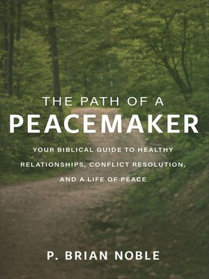 cover image of The Path of a Peacemaker