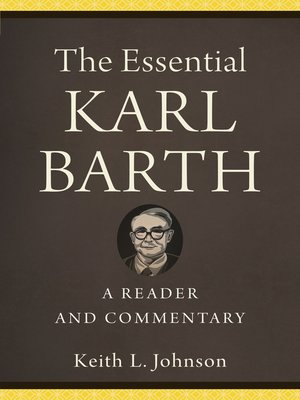cover image of The Essential Karl Barth