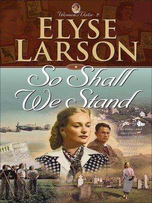 cover image of So Shall We Stand