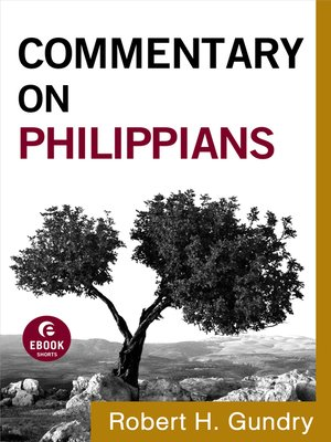 cover image of Commentary on Philippians