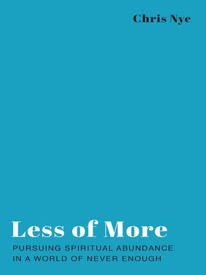 cover image of Less of More