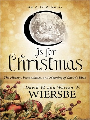 cover image of C Is for Christmas