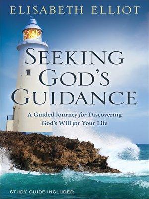 cover image of Seeking God's Guidance