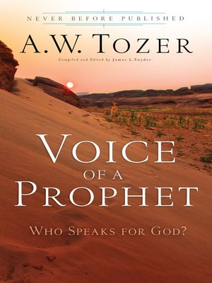 cover image of Voice of a Prophet