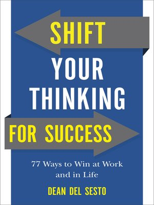 cover image of Shift Your Thinking for Success