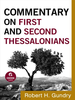 cover image of Commentary on First and Second Thessalonians