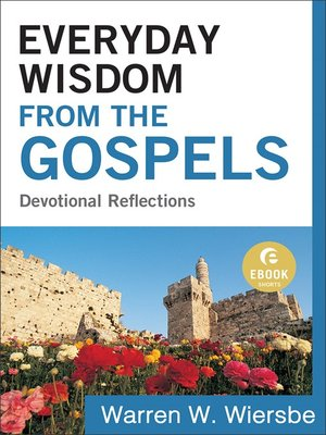 cover image of Everyday Wisdom from the Gospels