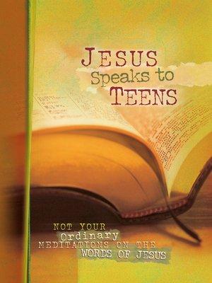 cover image of Jesus Speaks to Teens
