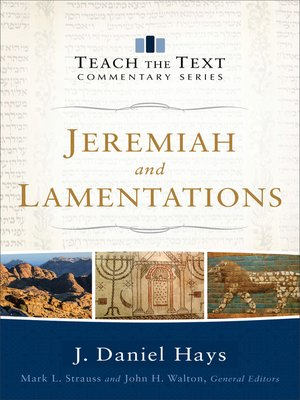 cover image of Jeremiah and Lamentations