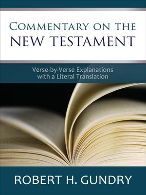 cover image of Commentary on the New Testament
