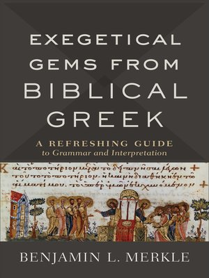 cover image of Exegetical Gems from Biblical Greek