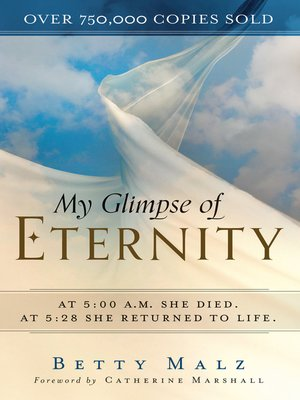 cover image of My Glimpse of Eternity