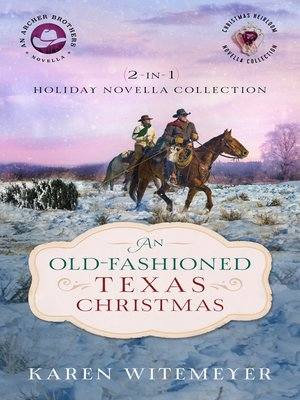 cover image of An Old-Fashioned Texas Christmas