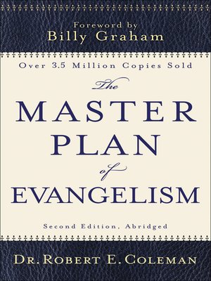 cover image of The Master Plan of Evangelism