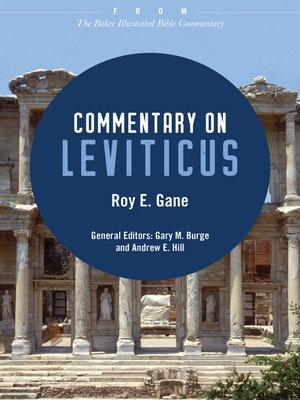 cover image of Commentary on Leviticus