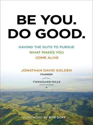 cover image of Be You. Do Good.