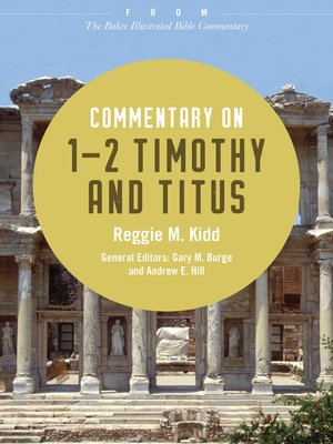 cover image of Commentary on 1-2 Timothy and Titus