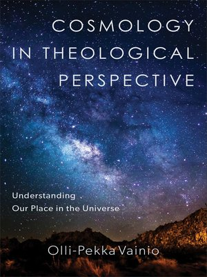 cover image of Cosmology in Theological Perspective