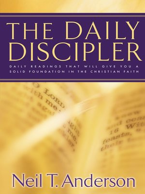 cover image of The Daily Discipler
