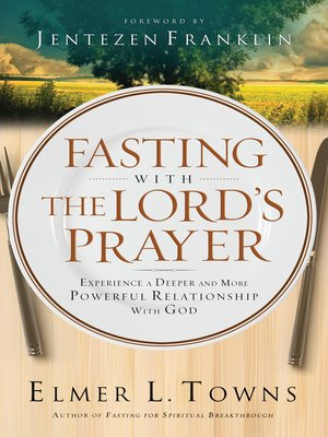 cover image of Fasting with the Lord's Prayer