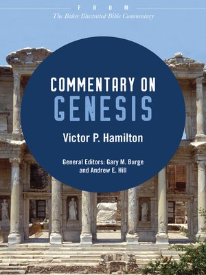 cover image of Commentary on Genesis