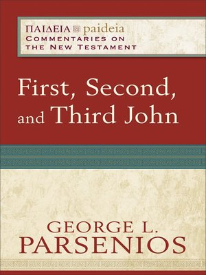 cover image of First, Second, and Third John