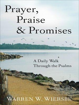 cover image of Prayer, Praise & Promises